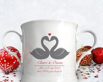 Personalised Animal Silhouette Loving Cup