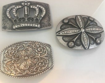 Belt buckles-silver buckles-Rhinestone belt buckles -wholesale buckles