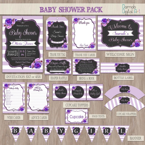 Baby Shower Decoration Packages : Baby shower party package
