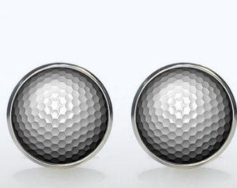 Gold Ball Cufflinks-k52