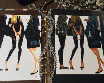 Fashion in black Dashboard Laminate