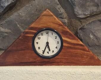 Caribbean Rosewood clock