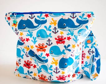 Sea Life Wet Bag
