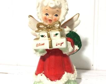Vintage Napco Blessings Angel