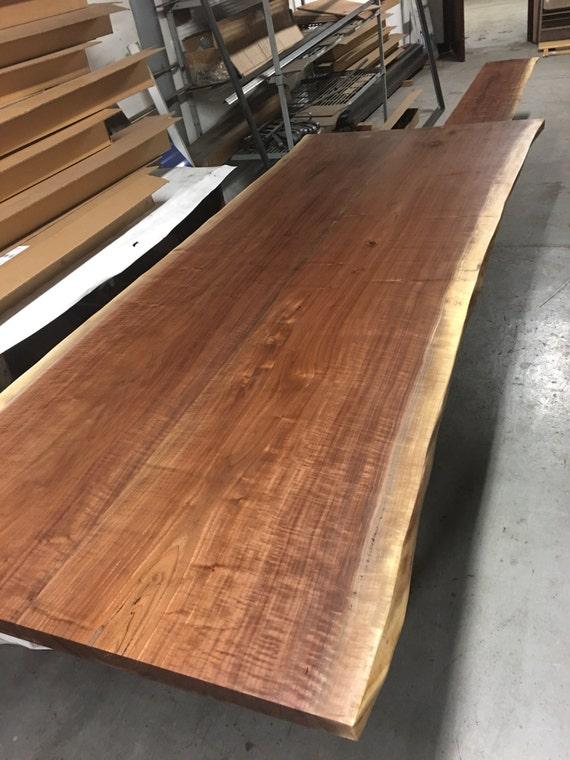Live Edge Walnut Custom dining Tables Industrial Modern Contemporary