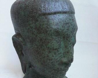 Ceramic bouddha unique piece