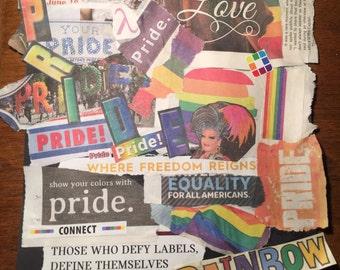PRIDE collage