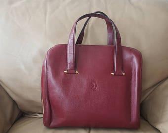 CARTIER bag leather, Vintage