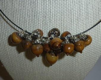 Acorn Necklace #7