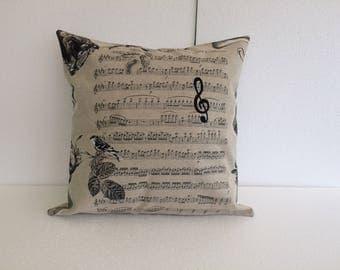 Classical concerto music cushion