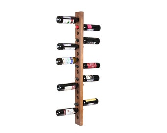 Wine rack 16 bottle wall mount