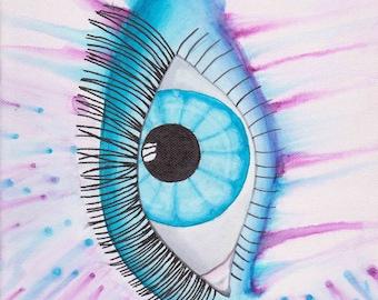 Sharpie eye