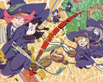 Little Witch Academia Anime Poster