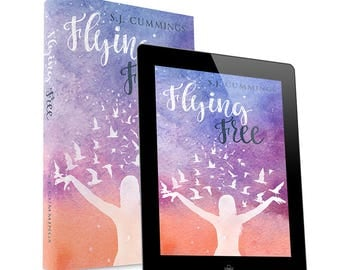 Flying Free-premade book cover design- Ebook & Print available