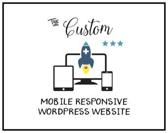 Mobile Friendly Web design | Wordpress Website Design  | Custom Website Design | Professional Web Design | Custom Web design Package