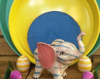 Vintage Made in Japan Ceramic Elephant