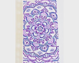 Henna Style iPhone Case