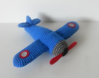 Airplane Amigurumi Pattern, Plane Crochet Pattern, Aircraft