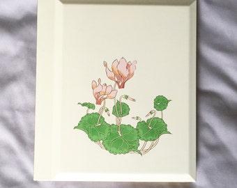 Floral Photo Album // Floral Picture Album // Vintage Floral Album // Oriental Home Decor (B7)