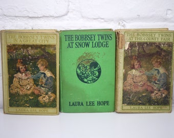 3 Bobbsey Twins Books