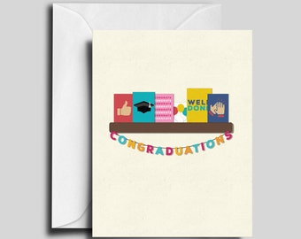 Congraduations Graduation Card