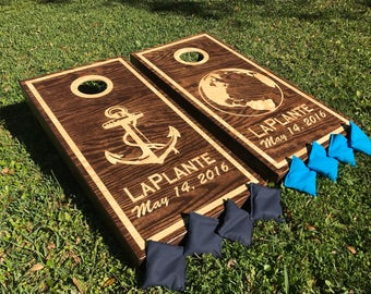 any logo any design custom corn hole boards quality and affordable summer is almost over weddings birthdays anniversaries and more