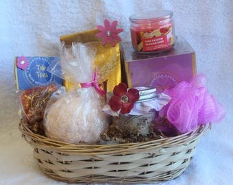 Fruits and Berries Spa Basket