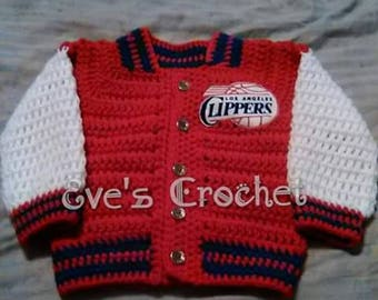 Baby crochet Clippers jacket
