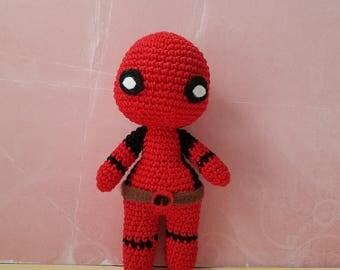 Deadpool Amigurumi made to order!