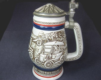 Vintage 1979 Avon Beer Stein Mug Collectible Handcrafted in Brazil, No 259745