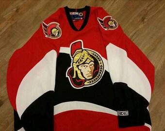 Ottawa senators jersey,2xl nhl ccm jersey