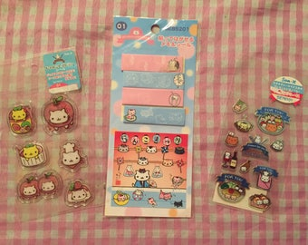 San-X Nyan Nyanko stickers lot RARE