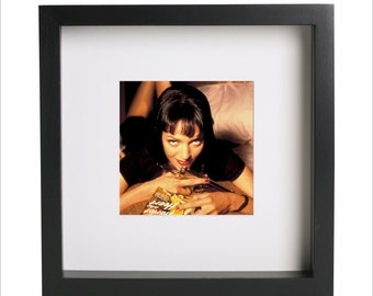 Uma Thurman Pulp Fiction photo print | Use in IKEA Ribba frame | Looks great framed for gift | Free Shipping | #2