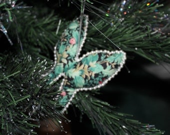 Green Holiday Butterfly