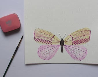 Butterfly Illustration Art Print
