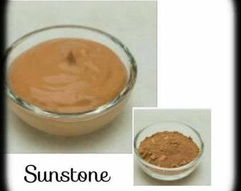 Organic Liquid Mineral Foundation: Sunstoneo