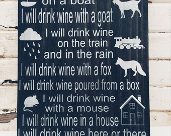Funny Wine Signs, Home Bar Decor, Christmas Gifts For Mom, Wine Lover Gifts