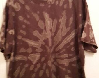 Adult xl bleach dyed shirts