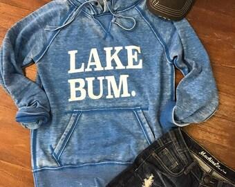 Lake Bum Hoodie - Royal