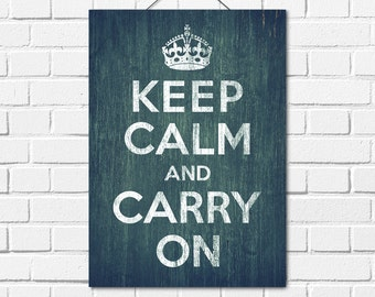 Keep Calm And Carry On Print,Instant Download,Printable Wall Art,Retro Art,Keep Calm And Carry On,Home decor, Wall Art,Quote,A4,A5,Retro