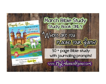 March's Bible Study - Study Book ONLY!