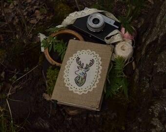 "Notebook ""Meadow deer"""