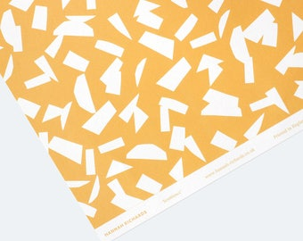 Semblance Wrapping Paper - Yellow