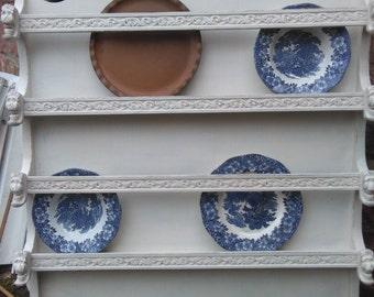 Shabbychic plate rack