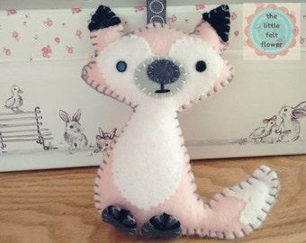 Felt Pattern-Felt-Woodland Fox- Sewing Pattern Tutorial-Felt PDF Pattern-Felt Patterns-DIY Gift-Felt Fox Ornament