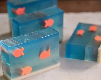 Fun Fish Olive Oil and Goat's Milk Soap