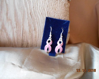 Pretty in Pink, Pink Enameled Ribbons!