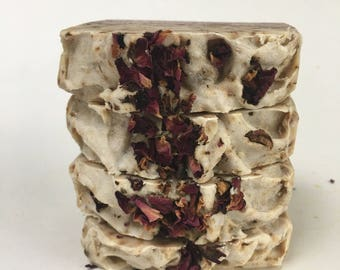 Rose Petals Herbal Soap Bar - 5 oz