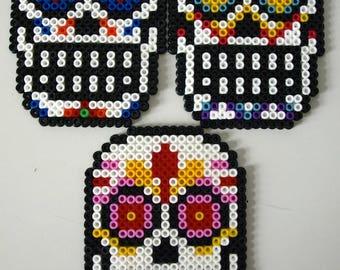 Sugar Skull made with Hama Beads