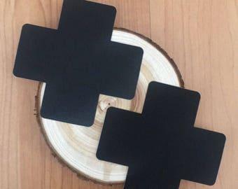 Black X Cross Nipple Pasties Rave Festival Wear